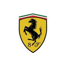 Custom Ferrari Logo Iron On Transfers Decal Sticker No 100174 Stickers100174 1 00 Brand Logos T Shirt Iron On Stickers Heat Transfers