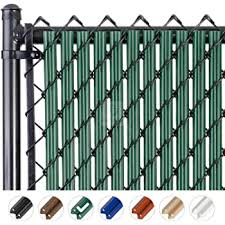 Amazon Com 6ft White Tube Slats For Chain Link Fence Garden Outdoor
