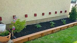 diy garden bed edging just about anyone