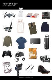 gift guides 2017 for your guy the