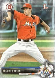 Amazon.com: 2017 Bowman Draft #BD-53 Trevor Rogers Marlins: Collectibles &  Fine Art
