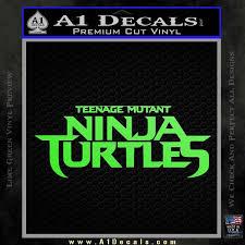 Tmnt New Movie Logo Decal Sticker A1 Decals
