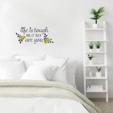 Yellow Wall Decals Wall Decor The Home Depot