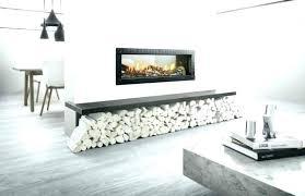 modern two sided fireplace tabighem me
