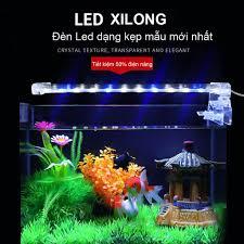 Đèn Trang trí Bể cá cảnh nhỏ giá re, Đèn dẫn kẹp bể thủy sinh D30, Đèn led  lắp cho bể cá LED D30 đa sắc màu cho bể cá cảnh đẹp -