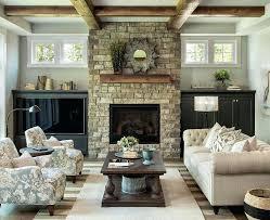 living rooms lakeside room gray walls