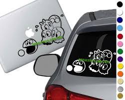 Pac Man Group Decal Sticker