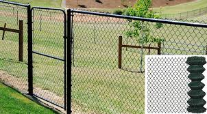 Portable Chain Link Mesh Netting For Tennis And Basketball Court Fence