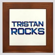 I Love Tristan Wall Art Cafepress