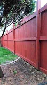 Fix A Leaning Fence Post The Easy Way Stow Tellu 1000 In 2020 Wood Fence Garden Fence Paint Backyard Fences