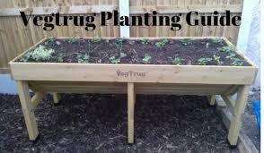 vegtrug planting guide growing guides
