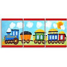Amazon Com The Kids Room By Stupell Transportation Collage 10 X 15 Multi Color Baby