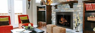 glass door fireplaces from residential