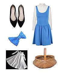 diy belle blue dress costume belle