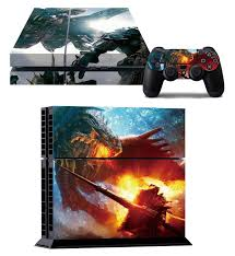 Monster Hunter Game Decal Sticker Skins For Playstation 4 Decor Skins For Ps4 Console 2 Pcs Stickers For Controller Stickers Peugeot Stickers Teachersticker Dandelion Aliexpress
