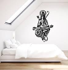 Vinyl Wall Decal Ancient Indian God Rama Hindu Hinduism Yoga Stickers Wallstickers4you