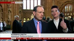 BBC's Norman Smith told to stop filming in Central Lobby - YouTube