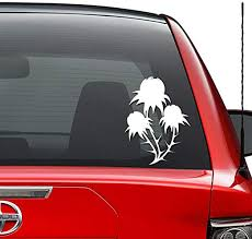 Amazon Com Poppy Flower Opium Vinyl Decal Sticker Car Truck Vehicle Bumper Window Wall Decor Helmet Motorcycle And More Size 7 Inch 18 Cm Tall Color Gloss White Home Kitchen