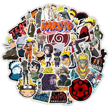 Naruto Stickers 50pcs Graffiti Sticker Decals Vinyls For Laptop Cars Motorcycle Bicycle Skateboard Luggage Bumper Stickers Decals Waterproof Trendy Stickerdoll