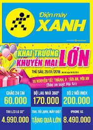 Khai trương siêu thị Điện máy XANH Quảng Nam Hội An
