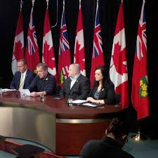 Jennifer French joined the families of firefighting student Adam Brunt and  volunteer firefighter Gary Kendall today to call for a Coroner's Inquest  into their deaths. Ontario NDP