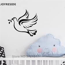 Joyreside Flying Birds Wall Decal Bird With Branches Wall Sticker Cute Vinyl Decor Home Baby Rooms Decor Interior Design A970 Wall Stickers Aliexpress