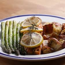 Easy Salmon Dinner Recipe by Tasty
