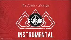 The Score - Stronger (Instrumental) [Filtered Instrumental] - YouTube