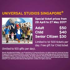 special rates for universal studios