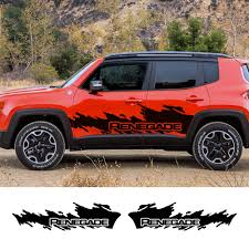 Jeep Renegade Trailhawk Side Stripes Vinyl Decals Stickers Wrap Archives Statelegals Staradvertiser Com