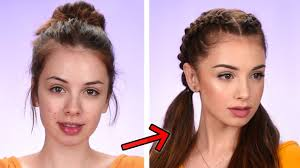 makeup hair tutorial