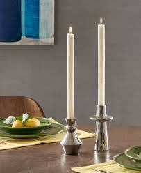 Ink+Ivy Parker Candle Holder Set of 2 - Silver | Candle holder set, Candle  holders, Silver candle holders