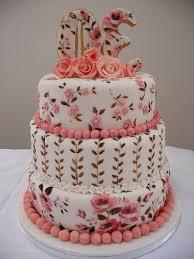 30th birthday cake ideas roses