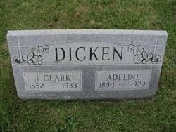 Adeline Anderson Dicken (1854-1929) - Find A Grave Memorial