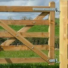Heavy Duty Part Fully Adjustable Field Gate Hinges Galvanised Fence Farm Ebay