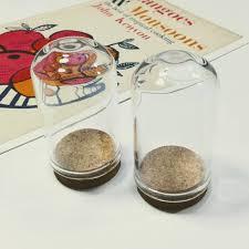 clear glass mini domes 36x22mm tiny