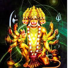 panchmukhi hanuman ji hd photo