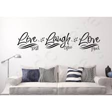 Wall Decal Live Laugh Love