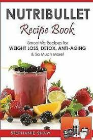 nutribullet recipe book smoothie