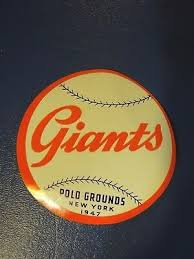 Stickers New York Giants Baseball Trainers4me