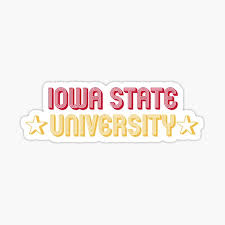 Iowa State University Stickers Redbubble