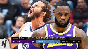 Los Angeles Lakers vs Memphis Grizzlies - Full Game Highlights ...
