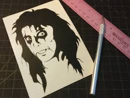 Alice Cooper Head Woo Stickers And Decals For The People
