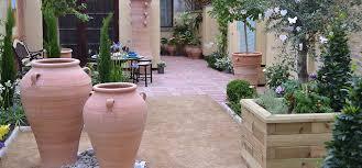 cretan terracotta pots planters