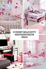 19 Sweet Hello Kitty Kids Room Decor Ideas Shelterness