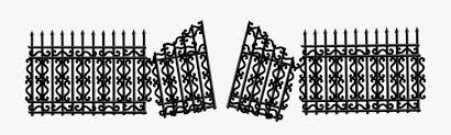 Angle Fence Monochrome Photography Gate Broken Free Transparent Clipart Clipartkey