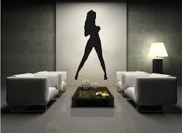 Ik2237 Wall Decal Sticker Sexy Girl Dancer Dance Hall Bedroom Stickersforlife