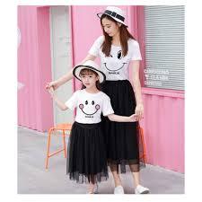 Váy đôi mẹ và bé siêu cute