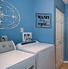 Wash Dry Fold Repeat Wall Decals Trading Phrases