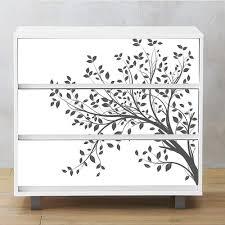 Amazon Com Alwayspon Self Adhesive Dresser Sticker Peel And Stick Furniture Stickers Decals Removable Furniture Skin 003 Malm Home Kitchen